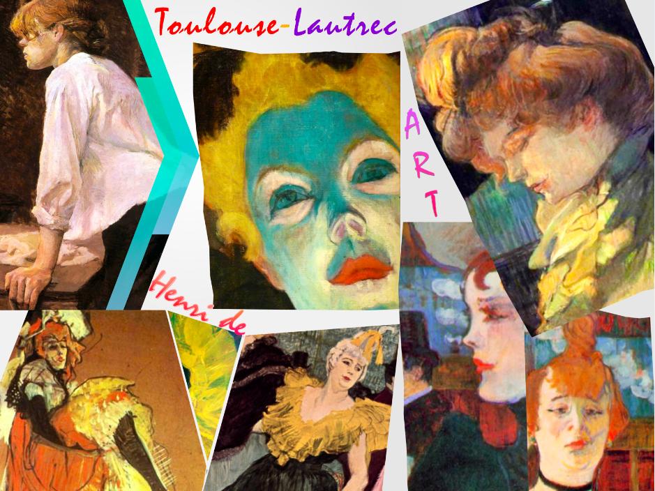 Henri de Toulouse-Lautrec - Art History - Post Impression - 187 Slides