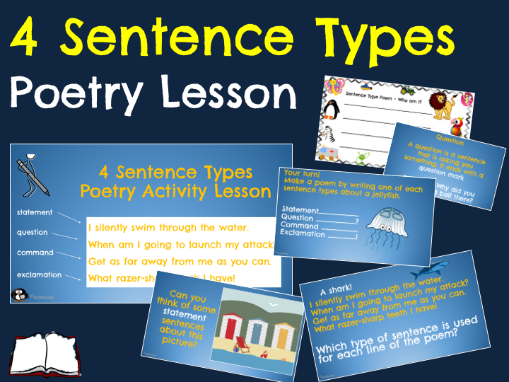 Sentence Types Poetry (ITAF Year 2)
