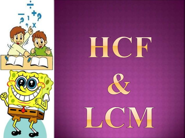 hcf  u0026 lcm intro by jancemanivasagan