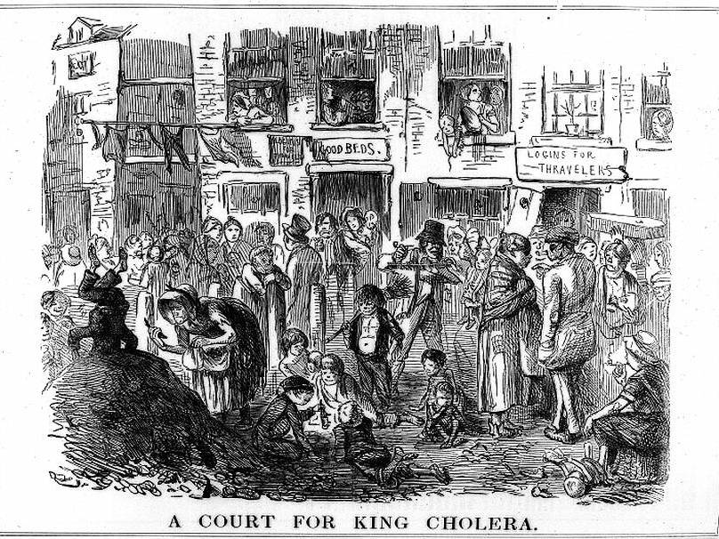 Public Health Conditions during the Industrial Revolution in the Nineteenth Century