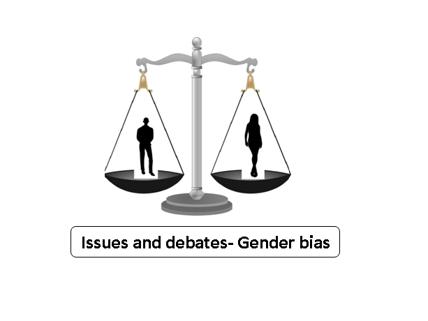 Issues and debates- Gender bias lesson AQA