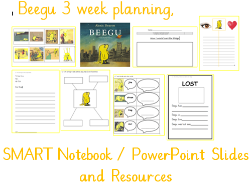 Beegu Year 1  planning and resources