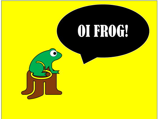 Oi Frog! Resources