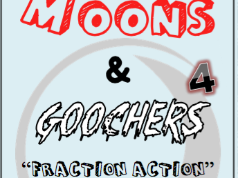 Fraction Action, Decimals, Percents - Moons n Goochers 4 - Dice Game