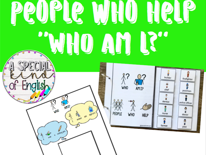 People who help - Who am I?