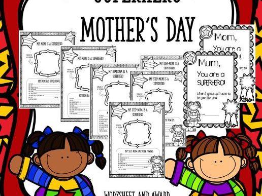 Superhero Mother's Day