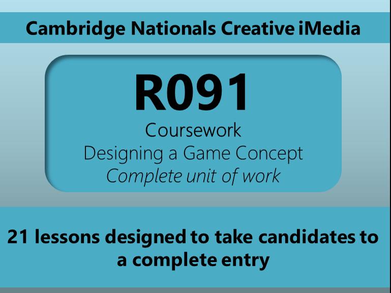 Creative iMedia R091 Unit of work