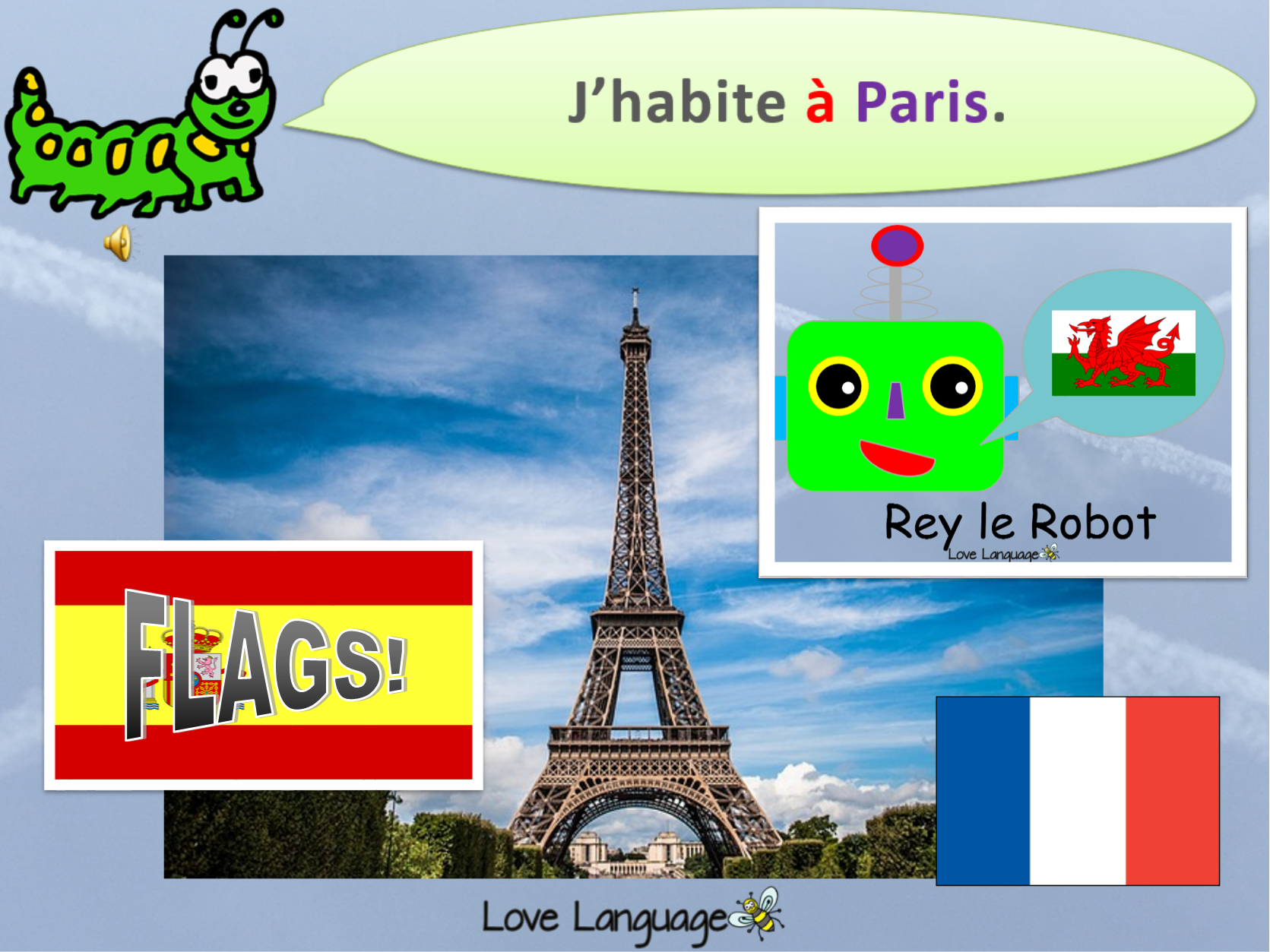 Countries in French - Where I Live Bundle