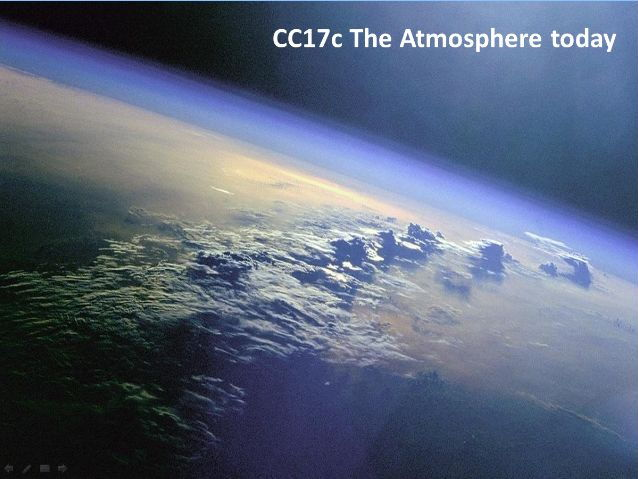 CC17c The atmosphere today