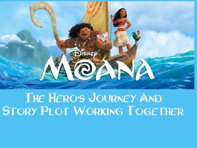 Teaching the Hero's Journey and Story Plot Elements using Disney's Moana