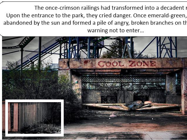 Descriptive Openings: Abandoned Themepark