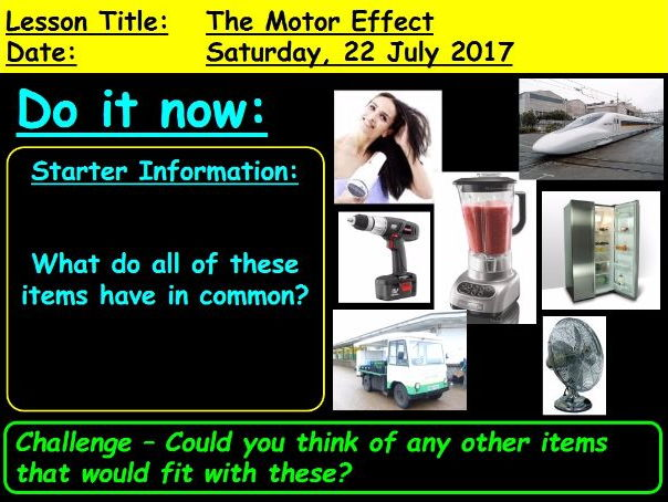 The Motor Effect: GCSE 9-1 Physics