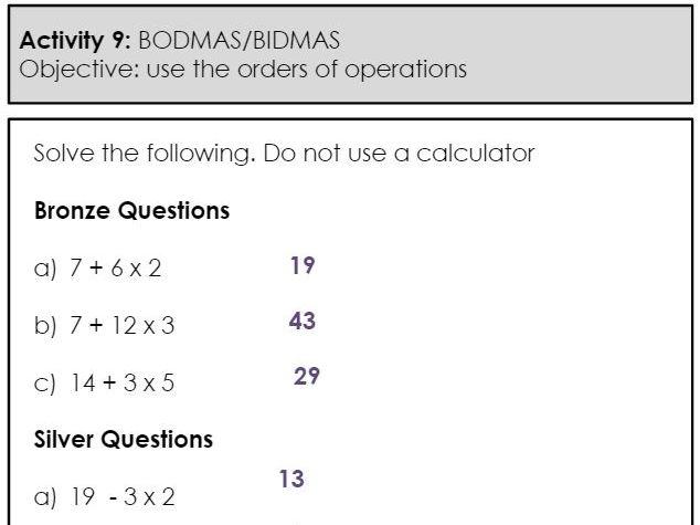 Homework Booklet Bundle - Number / Numeracy