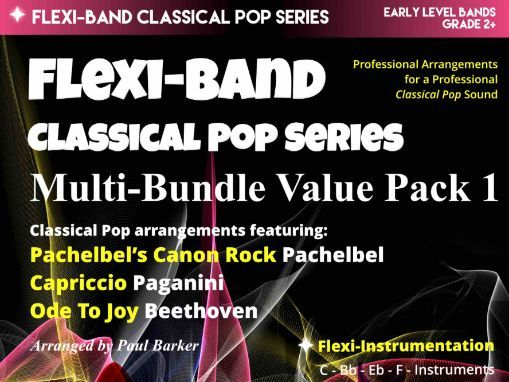 Flexi- Band Classical Pop Series Multi-Bundle Value Pack 1