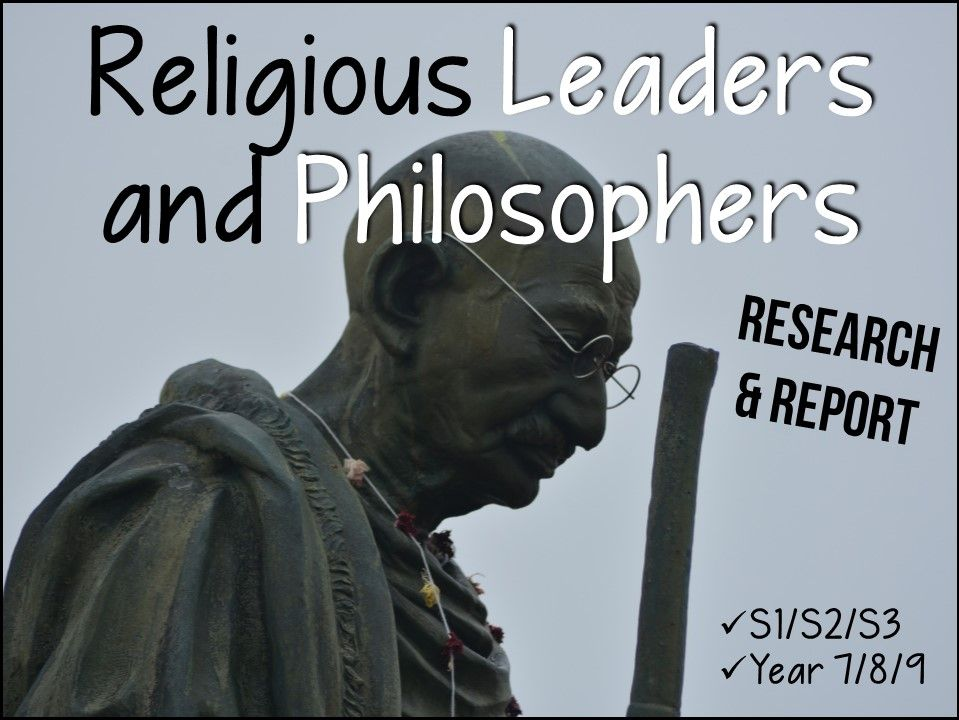 Leaders of Religion and Philosophy - complete pack