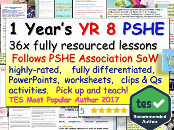 Year 8 PSHE
