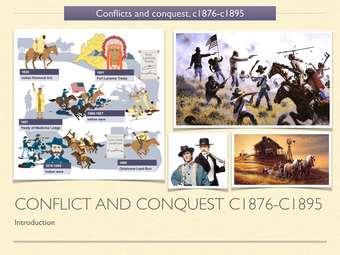 GCSE History of American West Unit 3 Introduction