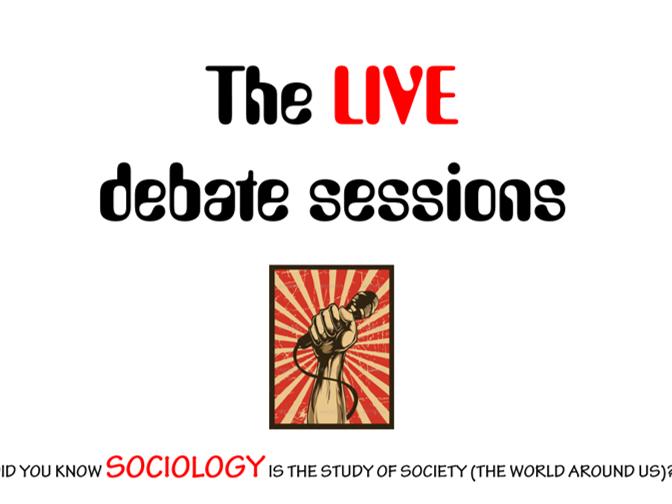 Sociology Debate Club!