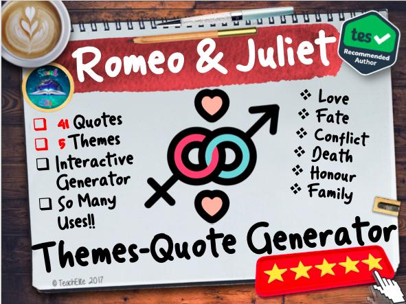 Romeo & Juliet: Romeo & Juliet Themes