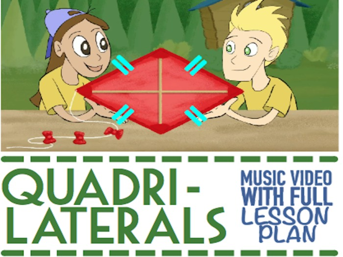 Types of Quadrilaterals: Game and Activities