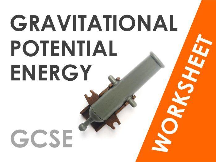 Gravitational Potential Energy - Worksheet