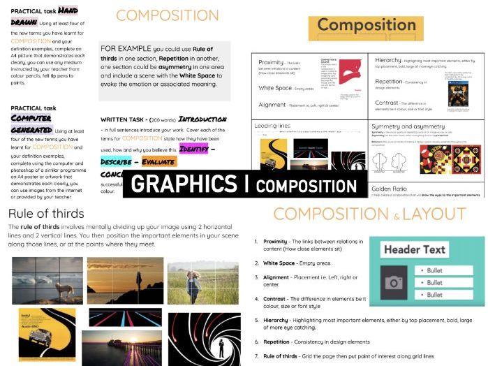Elements & Principles GRAPHIC Design   COMPOSITION
