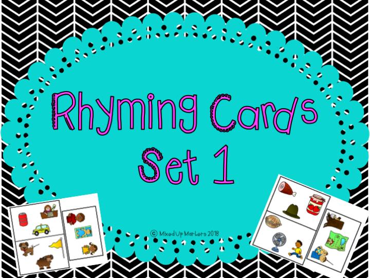 Rhyming Cards Set 1