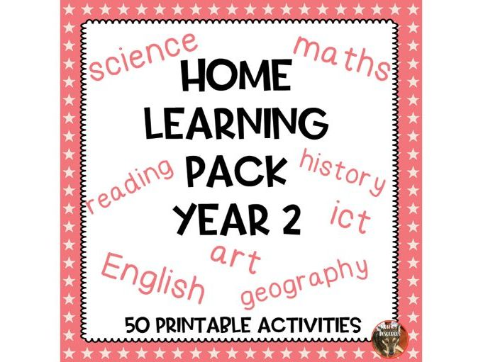 Home Learning Pack Year 2