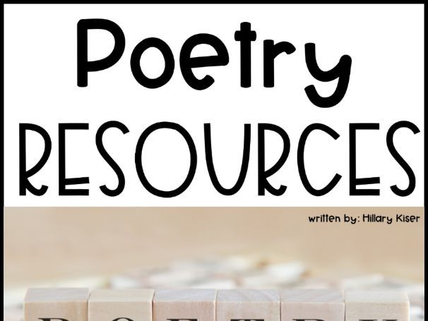 Poetry Resources
