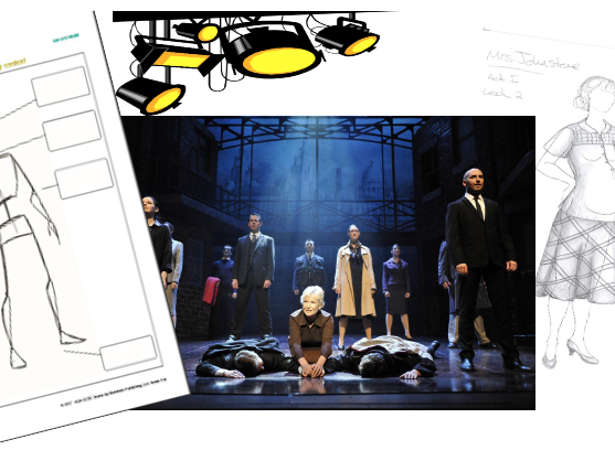 Blood Brothers - Lighting and Costume Design (Remote or live teaching)