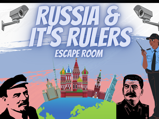Russia and its Rulers Escape Room