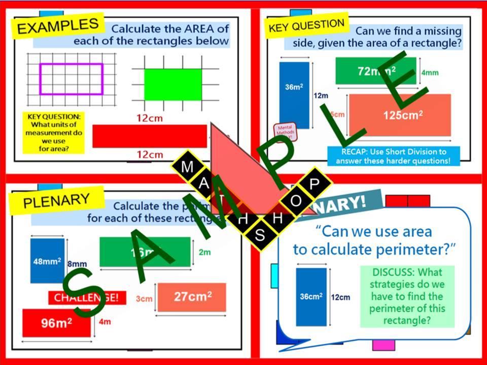 Area - Area Basic (1 Lesson)