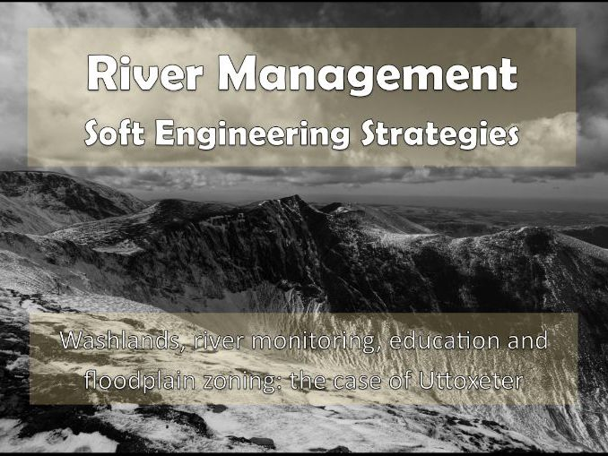 River Management: Soft Engineering