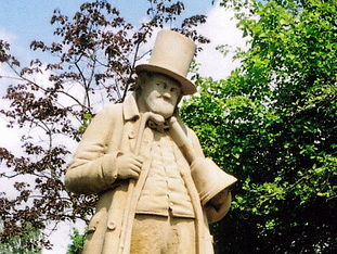 JOSEPH HOWARTH -  STATUE OF A FAMOUS DISABLED PERSON