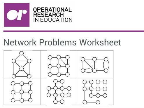 Network Problems: Paper Round worksheet
