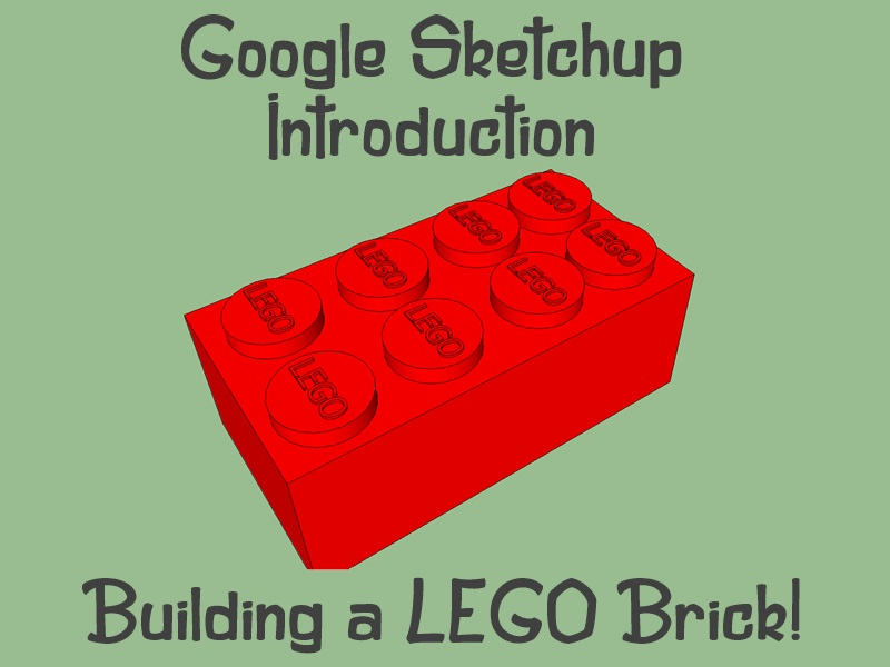 Google Sketchup Introduction Lesson - OFSTED outstanding