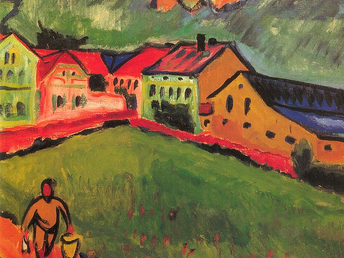 EXPRESSIONISM described in short text-quotes: the art-movement explained - for students and pupils