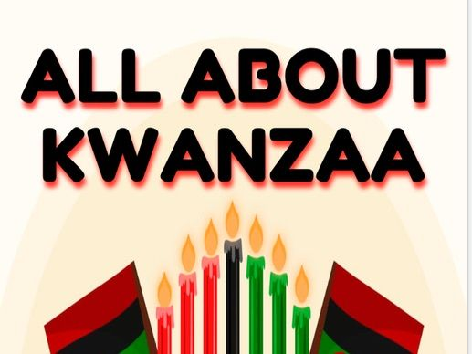 All About Kwanzaa Booklet (B&W)