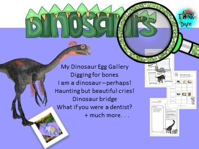 Project Based Learning: Dinosaurs - STEAM, Biomimimicy, KS1, NGSS