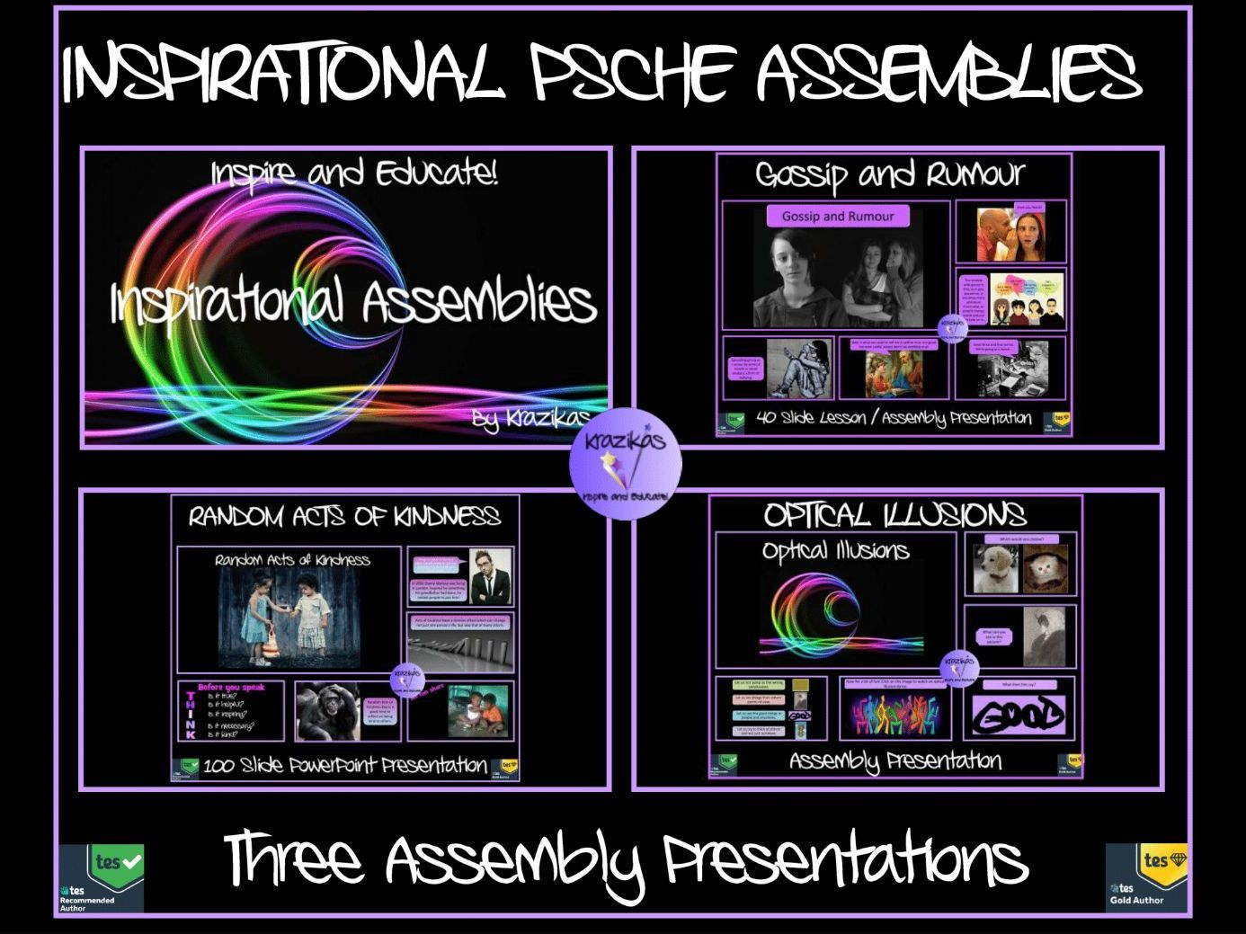 Assemblies: Three Inspirational Assemblies Bundle