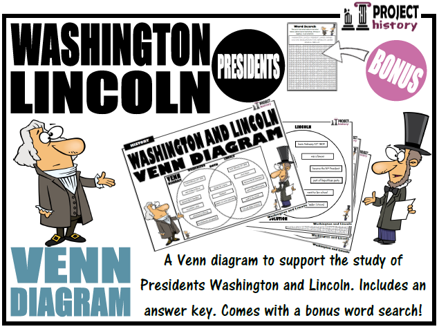 Washington and Lincoln Venn Diagram