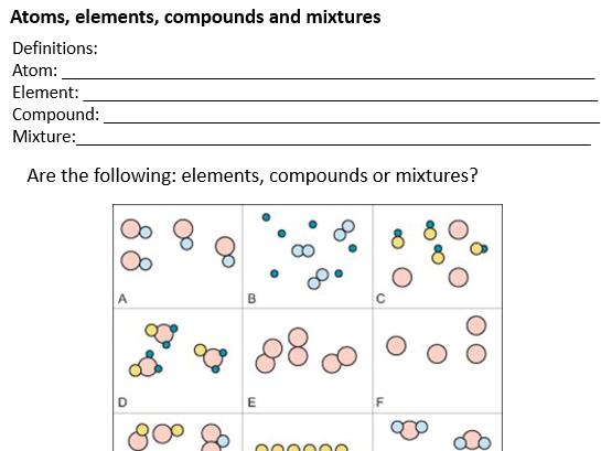 GCSE Chemistry - C1 triple science worksheets