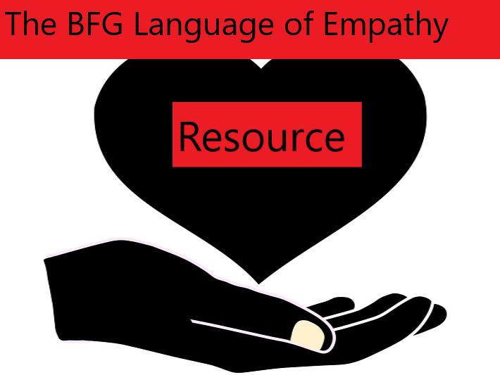 The BFG Language of Empathy Grid
