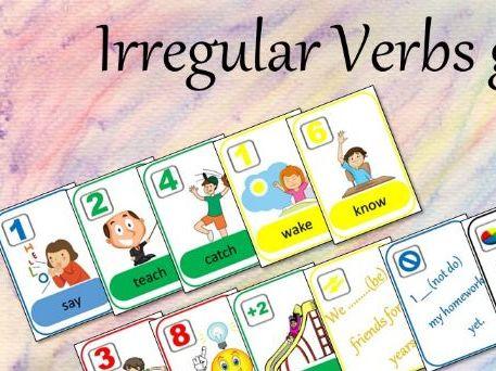 Irregular Verbs Game