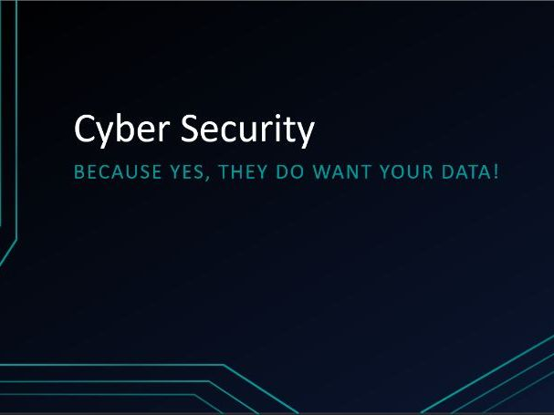 Cyber Security Revision - PowerPoint