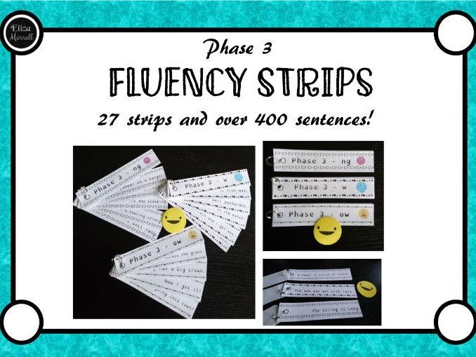 Phase 3 Phonics Fluency Sentences