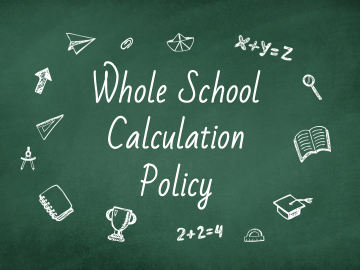 Whole School Calculation Policy