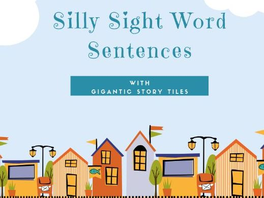 Silly Sight Words Sentences