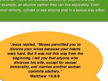 Eduqas Religious Studies Component 1 Relationships Divorce Information Sheet