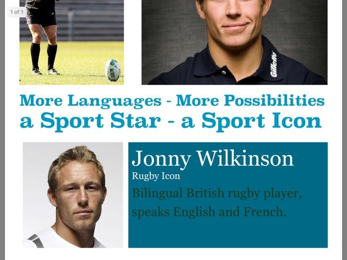 MFL Poster 3 - Jonny Wilkinson